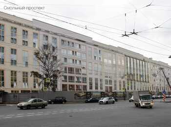Вид на комплекс с Тульской улицы
